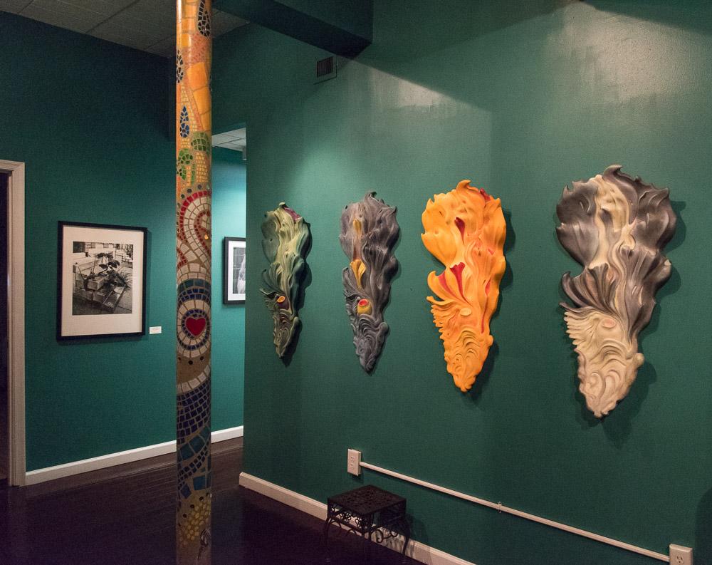 Four Seasons sculptures