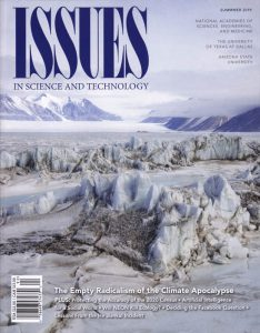 Issues in Science and Technology Cover