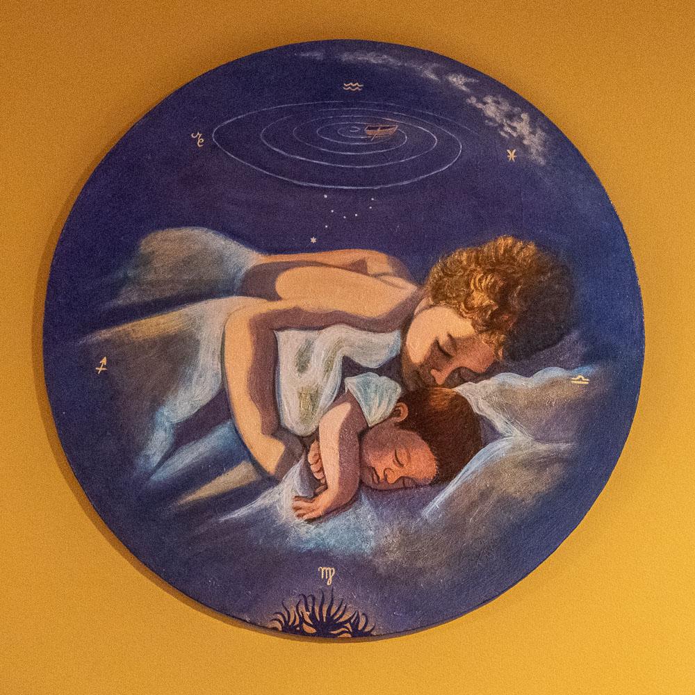 Helen Glazer, Iberian Lullaby painting
