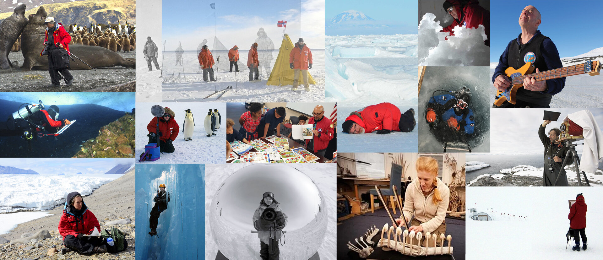 Announcing the Antarctic Artists & Writers Collective