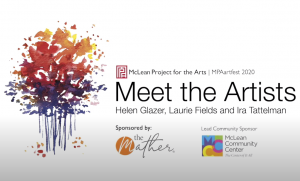 MPAartfest: Meet the Artists splash page