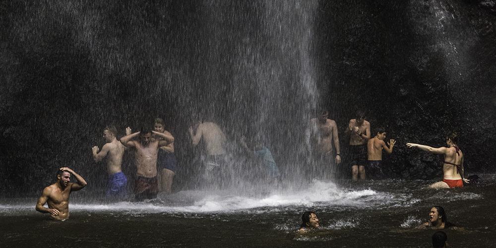 Uluwehi Falls, Kauai, Hawaii
