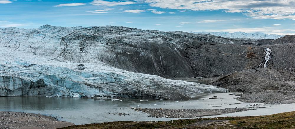Russell or Reindeer Glacier in 2018