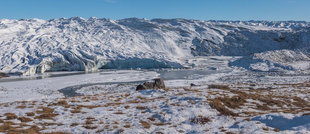 Climate Change at the Reindeer Glacier